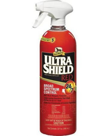 ABSORBINE ULTRASHIELD RED INSECTICIDE & REPELLENT QT