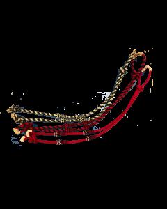 CABALLO AZTECA REINS, CHARRA THICK NYLON 1650